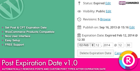 CodeCanyon Post Expiration Date 6825962