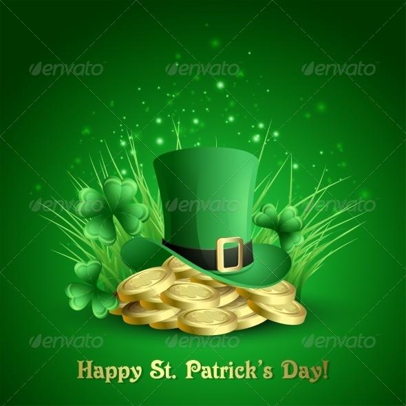 GraphicRiver Vector Illustration St Patrick s Background 6859716