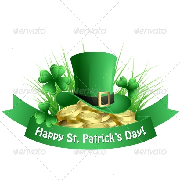 GraphicRiver Vector Illustration St Patrick s Background 6859833