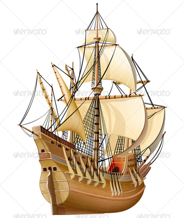 GraphicRiver Caravel 6859988