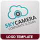Sky Camera Logo Template - GraphicRiver Item for Sale