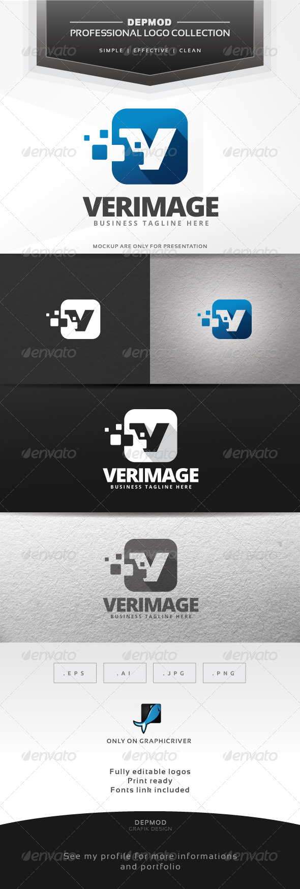 GraphicRiver Verimage Logo 6860134