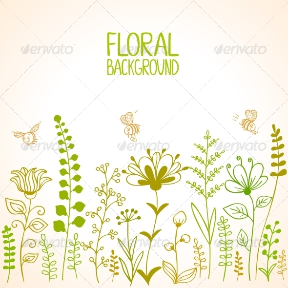 GraphicRiver Floral 6860285