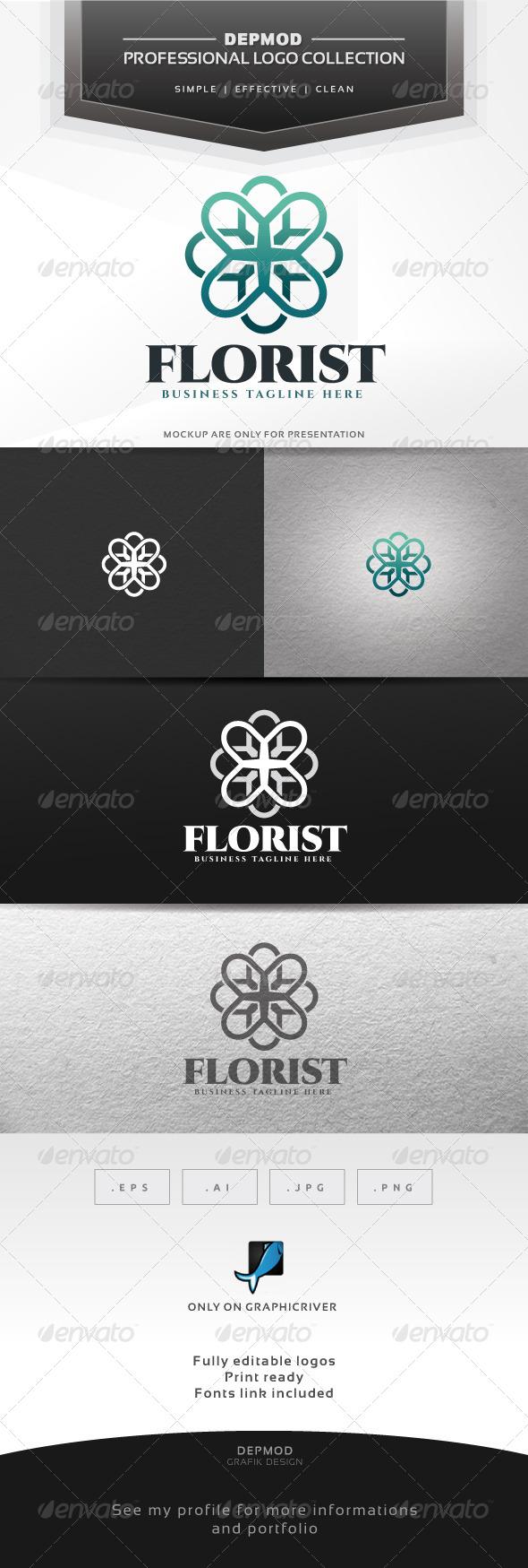 GraphicRiver Florist Logo 6860324