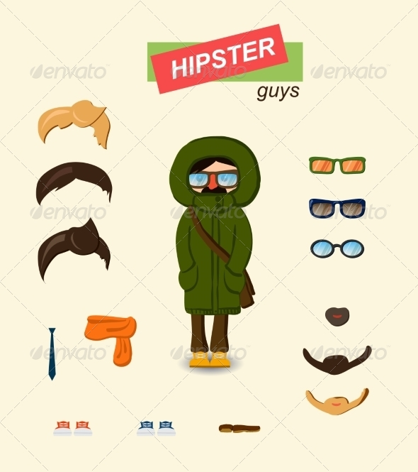 GraphicRiver Guy Kit 6860342