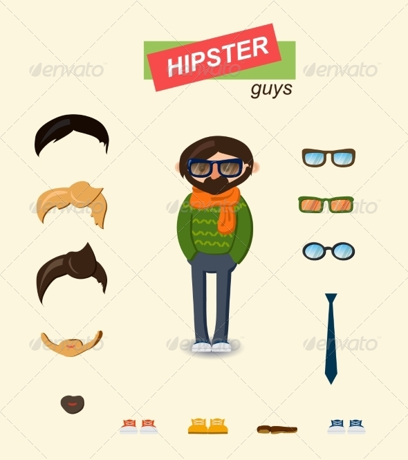 GraphicRiver Guy Kit 6860347