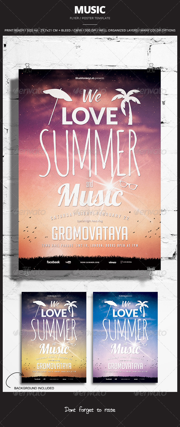 GraphicRiver Music Flyer Poster 10 6862557