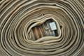 Old rolled fire hose - PhotoDune Item for Sale