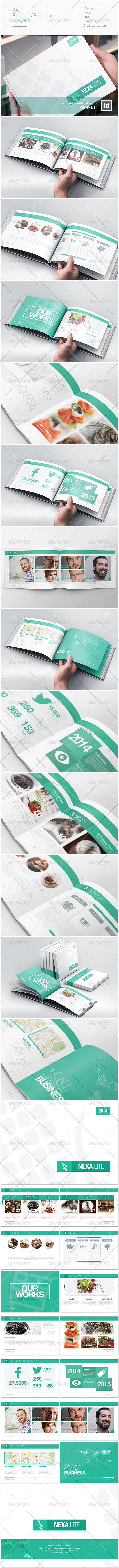 GraphicRiver A5 Booklet Catalogue Brochure 6863319
