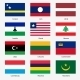 Flag Set of World Sovereign States - GraphicRiver Item for Sale