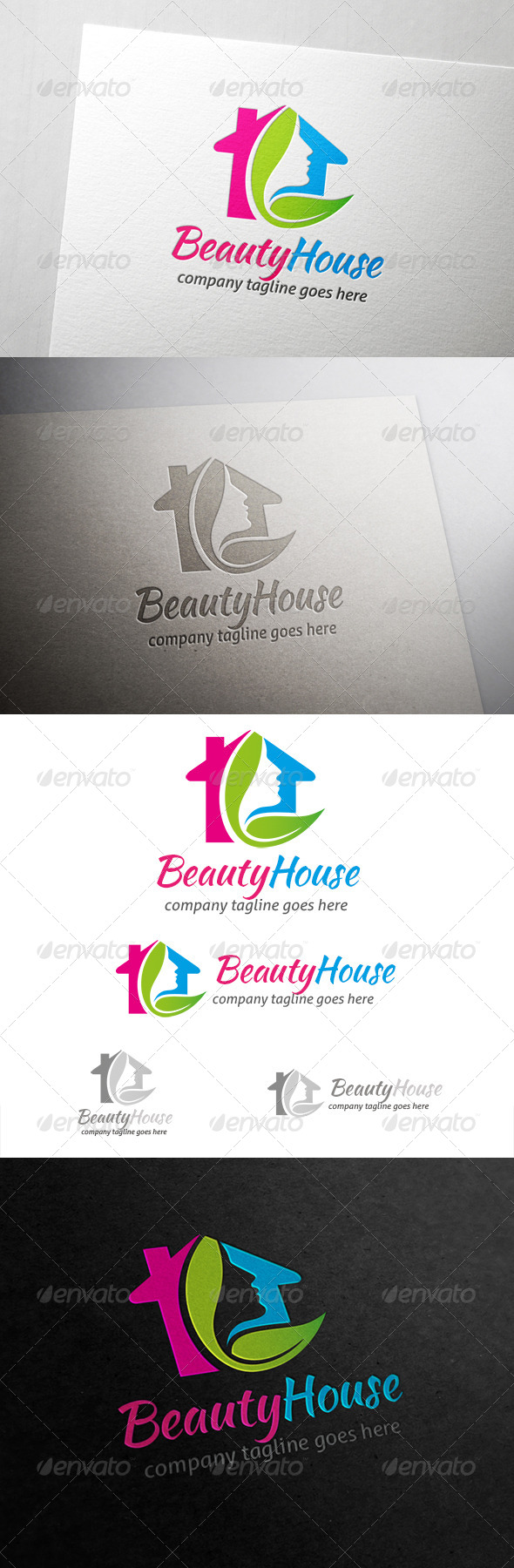 GraphicRiver House Logo 6864893