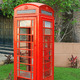 Vintage Red Phone Booth - PhotoDune Item for Sale