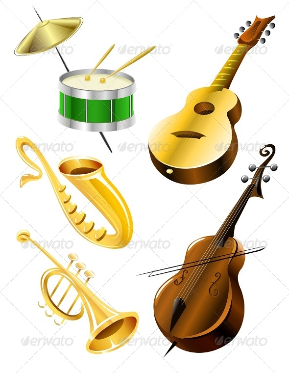 GraphicRiver Musical Instruments 6865150