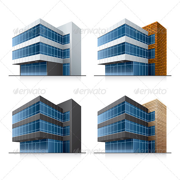 GraphicRiver Office Buildings 6865691