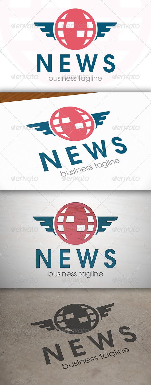 GraphicRiver News Logo 6866090