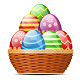 Basket with Easter Eggs - GraphicRiver Item for Sale