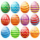 Set of Easter Eggs - GraphicRiver Item for Sale