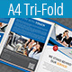 Multipurpose A4 Tri-Fold Brochure Template Vol-2 - GraphicRiver Item for Sale