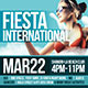 Fiesta International Party Flyer - GraphicRiver Item for Sale