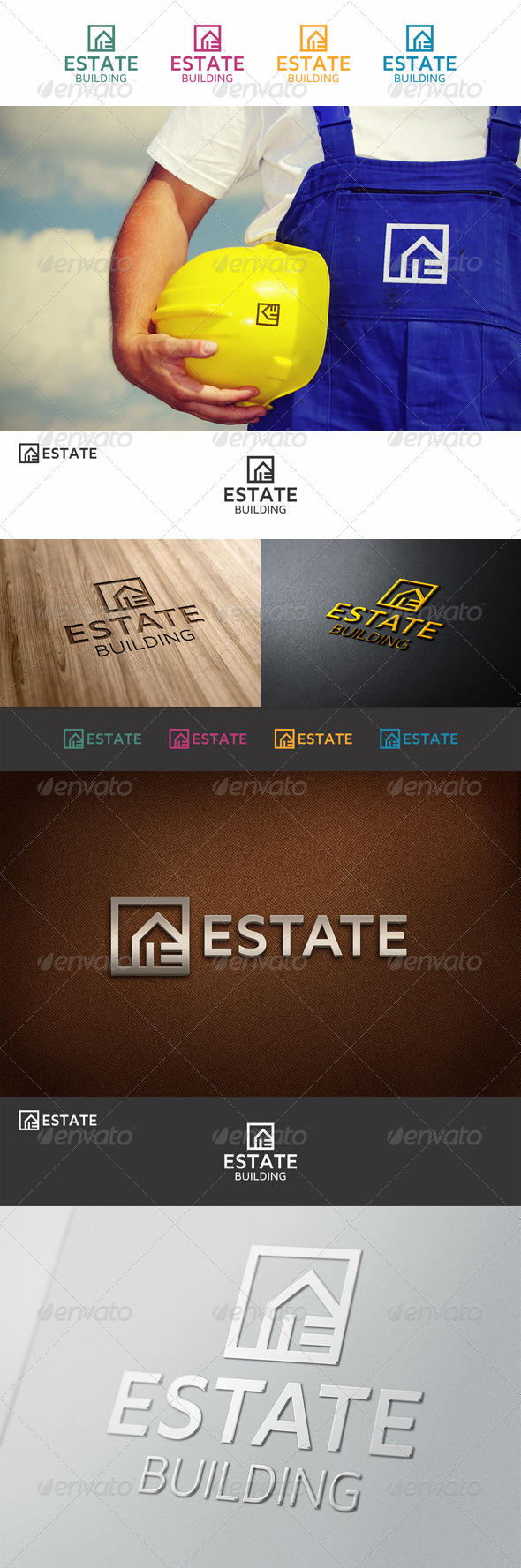 GraphicRiver Estate Property Logo E 6867778