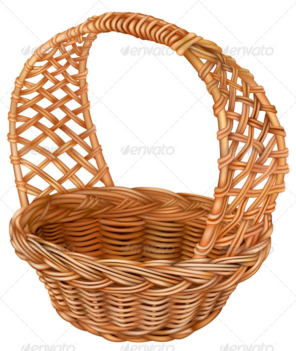 GraphicRiver Wicker Basket 6859704