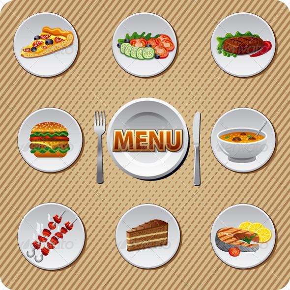 GraphicRiver Menu 6868943