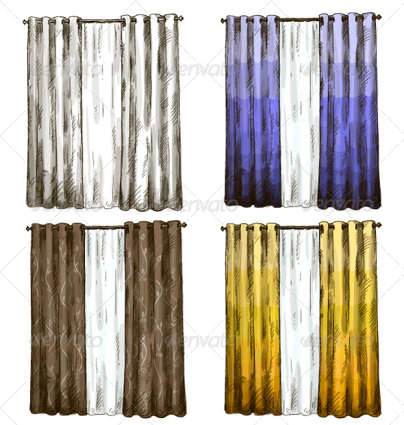 GraphicRiver Curtains 6869050
