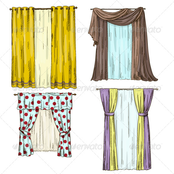 GraphicRiver Curtains 6869110