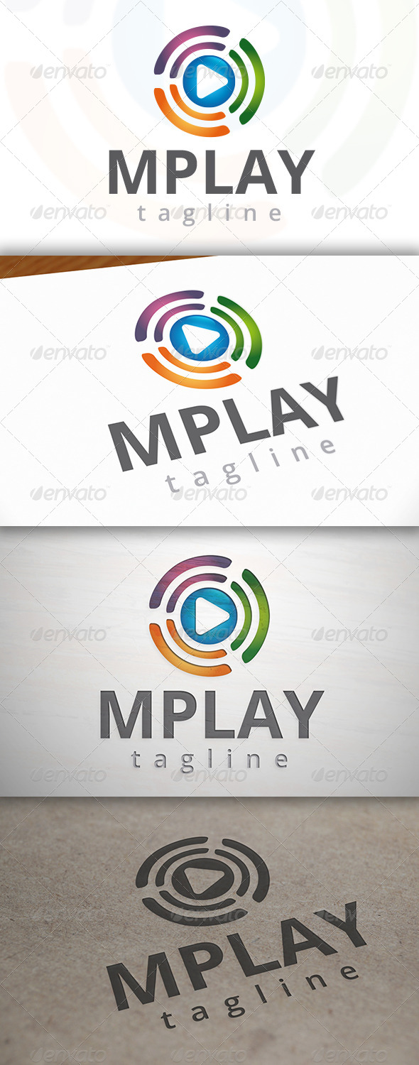 GraphicRiver Media Play Logo 6869471