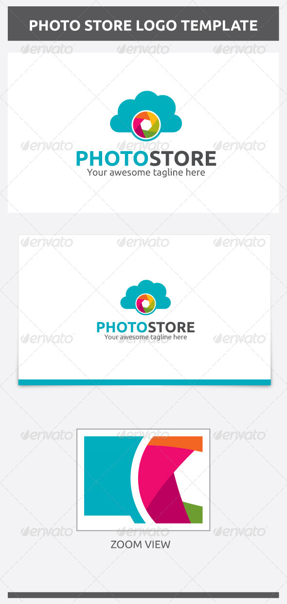 GraphicRiver Photo Store Logo 6870127