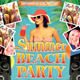 Summer Beach Party Flyer Poster - GraphicRiver Item for Sale