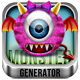 Fluffy Monster Generator - GraphicRiver Item for Sale