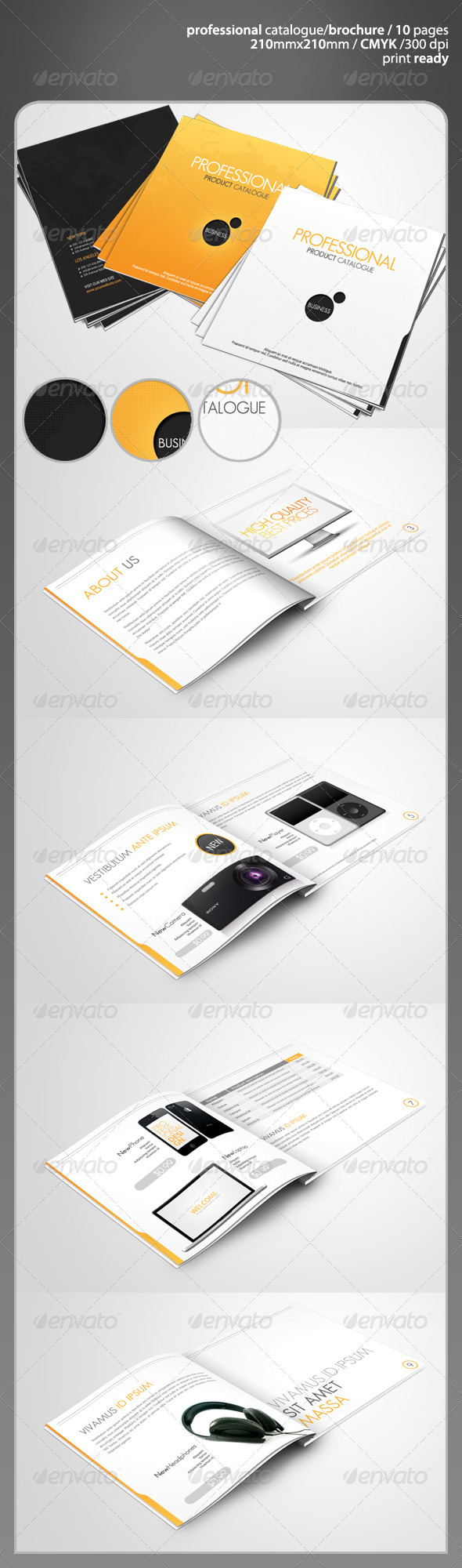 GraphicRiver Professional Product Catalogue 677336