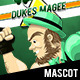 Dukes Magee - Get Em'!!! Mascot - GraphicRiver Item for Sale