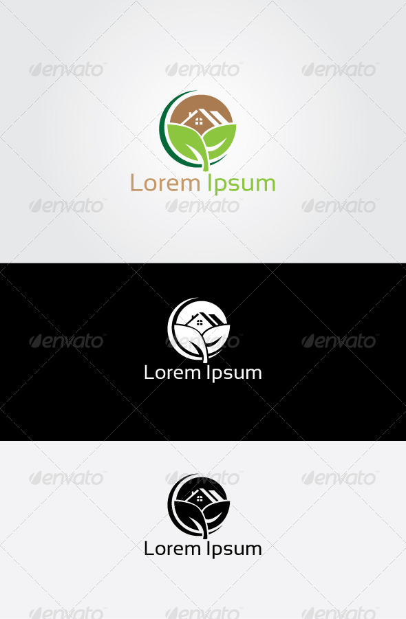 GraphicRiver Farm House Logo 6873246