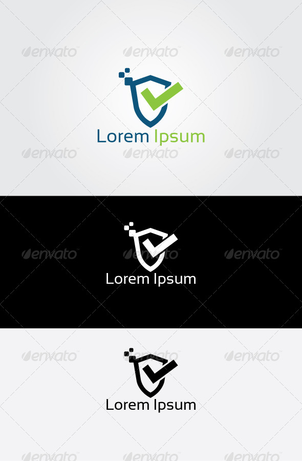 GraphicRiver Secure Check Logo 6873609