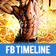 Gym and Workout 2 Timeline Cover - GraphicRiver Item for Sale