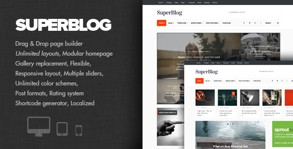 SuperBlog - Powerful Blog & Magazine Theme - Personal Blog / Magazine