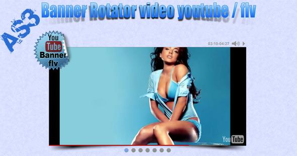 ActiveDen Video Banner YouTube Flv AS3 719644