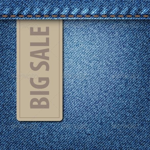 GraphicRiver Big Sale Jeans Background 6878455