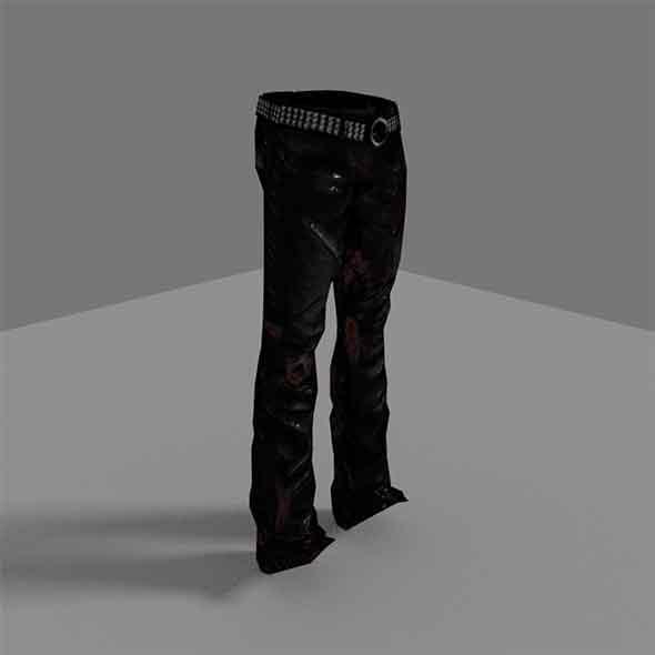 3DOcean Zombie Pants 6879624