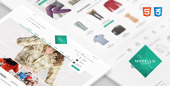 Modello - Responsive eCommerce Template - Shopping Retail