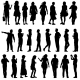 Silhouettes - GraphicRiver Item for Sale