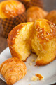 fresh baked muffin and croissant mignon - PhotoDune Item for Sale
