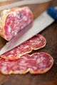 italian salame pressato pressed slicing - PhotoDune Item for Sale