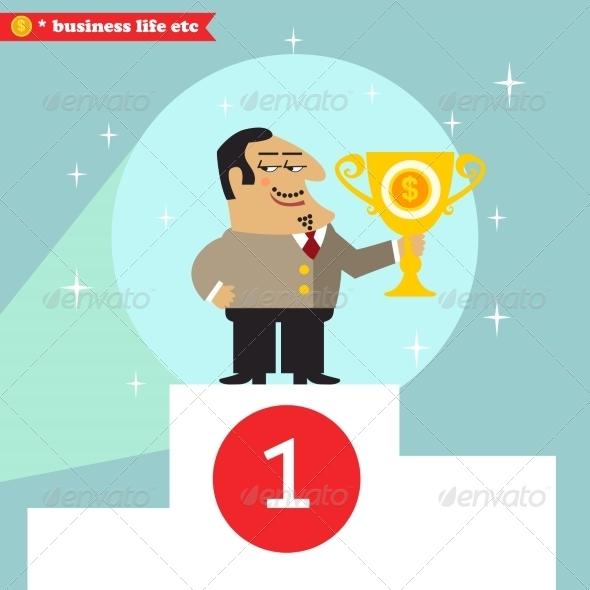 GraphicRiver Big Boss got Prize 6882280