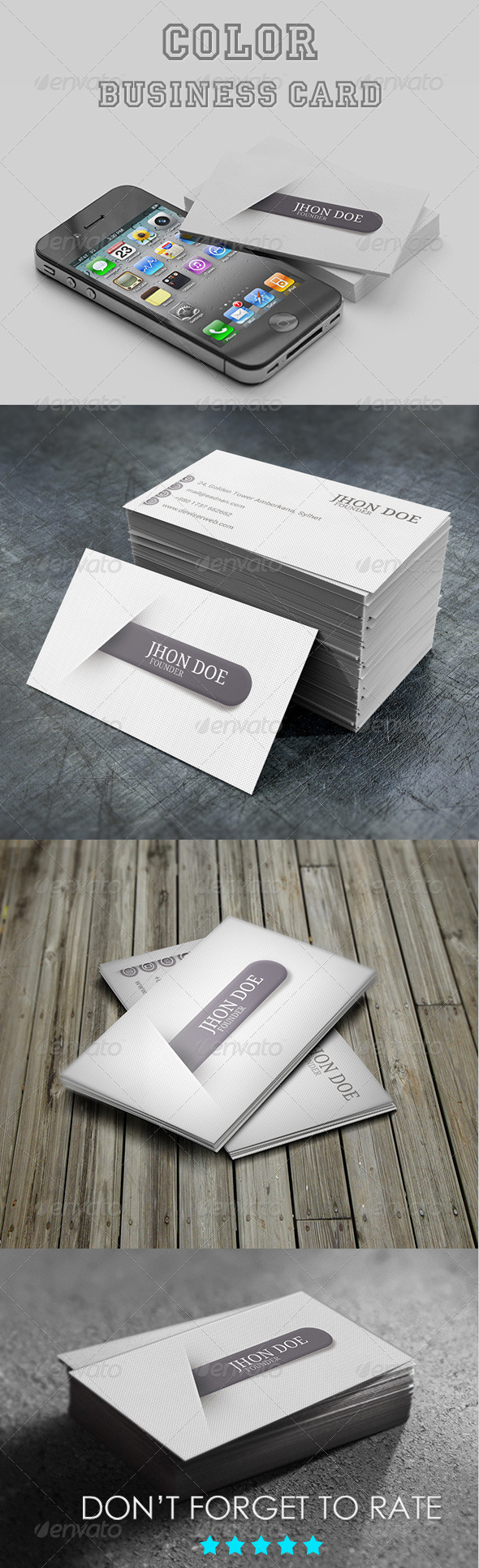 GraphicRiver Personal Business Card Template 6883865