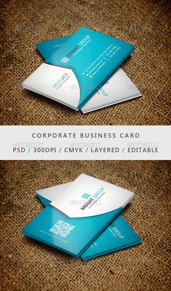 GraphicRiver Business Card 11 6883874
