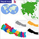 Nepal Map - GraphicRiver Item for Sale