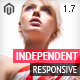 Independent - Responsive Magento Theme - ThemeForest Item for Sale